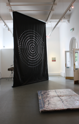 Mandala (hanging) & Carpet (floor). Photo credit Mark Cullen