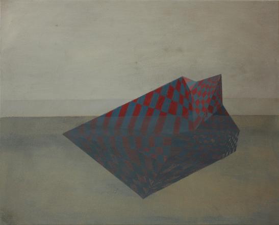Island, oil on canvas 40 x 50 cm, 2012.