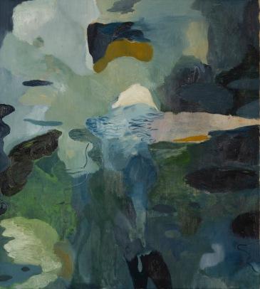 andraigíneacht (Androgyny), 2018. Oil on canvas, 81x73cm