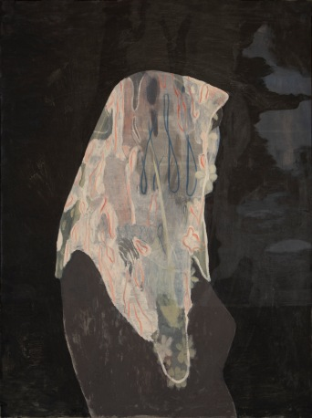 Cluiche fanachta (The waiting game), 2018. Oil on canvas, 130x97cm