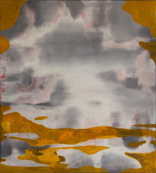 Scáth aoibhinn (sublime reflection), 2018. Oil on canvas, 81x73cm